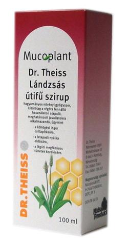 Dr Theiss lándzsás útifű szirup 100 ml Mucoplant  *