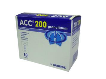 ACC 200 granulátum 30x3 g *