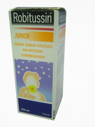 Robitussin junior szirup 100 ml