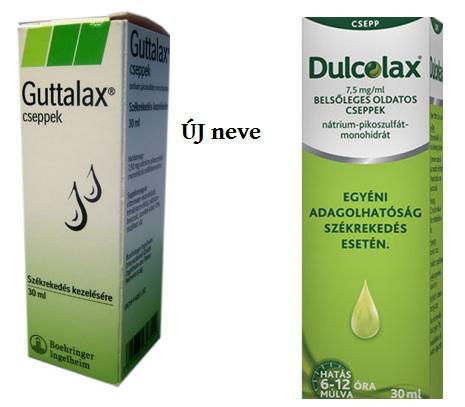 Guttalax cseppek 30ml *