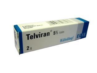 Telviran 5% krém 2g
