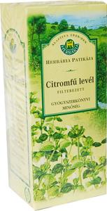 Citromfű tea Herbária filteres 25x *