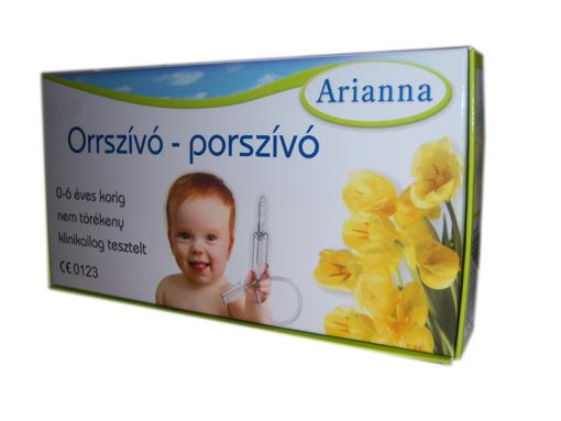 Arianna orrszívó porszívó 1x *