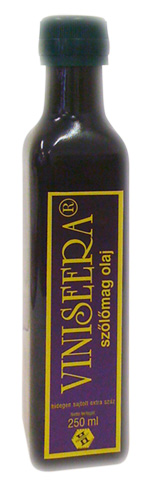 VINISEERA szőlőmag olaj 250ml  (beszerzése hosszadalmas)