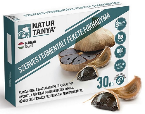 Fokhagyma kapszula 30x szagtalan * Garlicin
