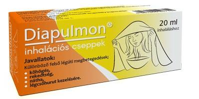 Diapulmon inhalációs cseppek 20ml *