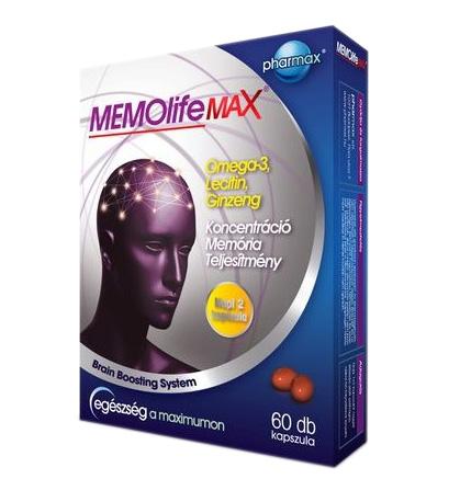 MEMOlife MAX kapszula 60x *