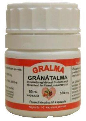 Gralma gránátalma kapszula 60db *