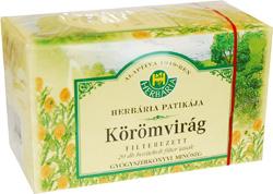Körömvirág tea filteres Herbária 20x *