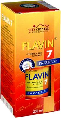 Flavin 7 premium gyümölcskoncentrátum 200ml *