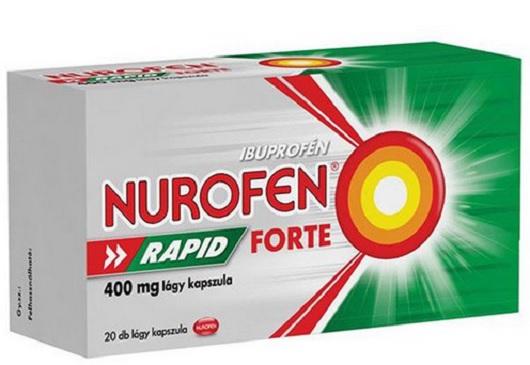Nurofen Rapid Forte 400mg lágy kapszula 20x