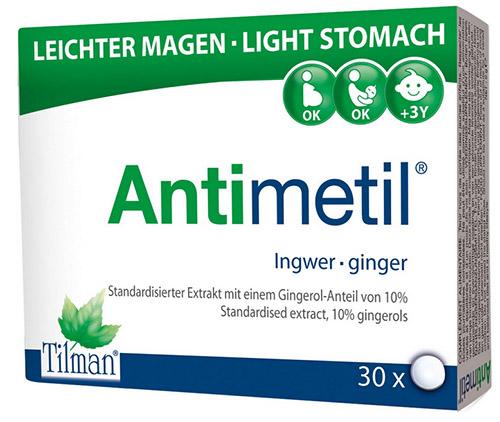 Antimetil gyömbér tabletta 30x