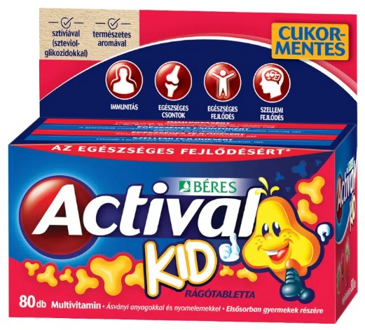 Actival Kid Gumivitamin 50x *
