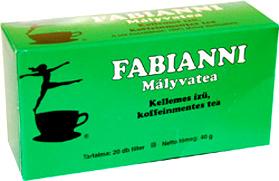 Mályva tea 20x2g Fabianni *