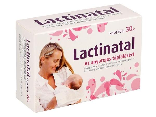 Lactinatal kapszula 10x anyatej termelődést fokozó
