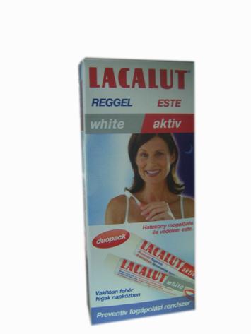 Lacalut White fehérítő hatású fogkrém 75ml