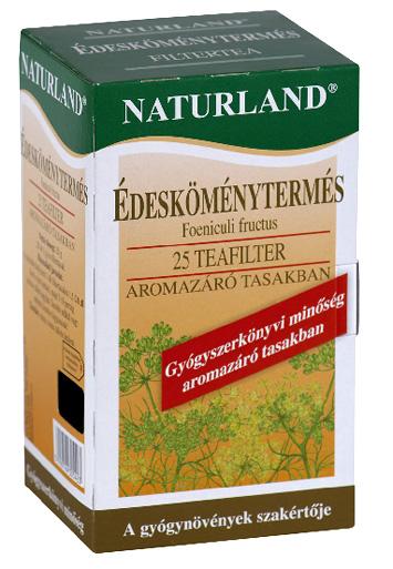 Édesköménytermés filtertea 25x1,0 g Naturland *