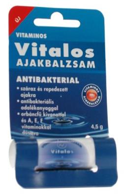 Vitalios antibakteriális ajakbalzsam *