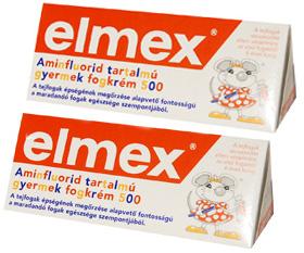 ELMEX FOGKRÉM gyermek 2x50ml