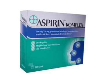 Aspirin Komplex granulátum 10x *