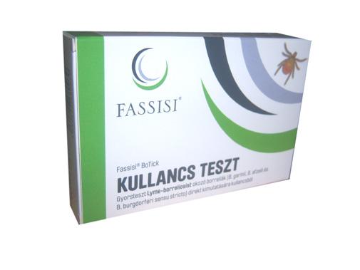 KULLANCS TESZT (Lyme fertõzött kullancs kimutatása)*