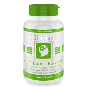 Magnézium + B6-vitamin szerves nyújtott felszívódású 70x Bioheal