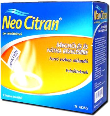 Neo Citran por felnőtteknek 14x *