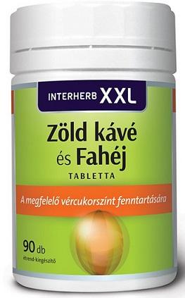 Interherb XXL fahéj+ zöldkávé 30x