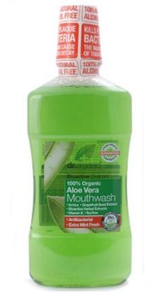 Dr. Organic Bio Aloe Vera szájvíz (beszerzése hosszadalmas)
