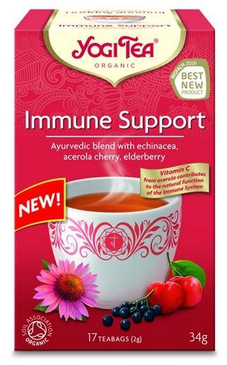 Immunerősítő tea 17x Yogi bio