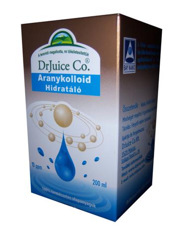 Aranykolloid hidratáló 200 ml dr. Juice *