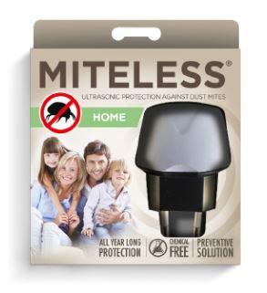 MiteLess Home poratka elleni ultrahangos készülék * 90m3-re