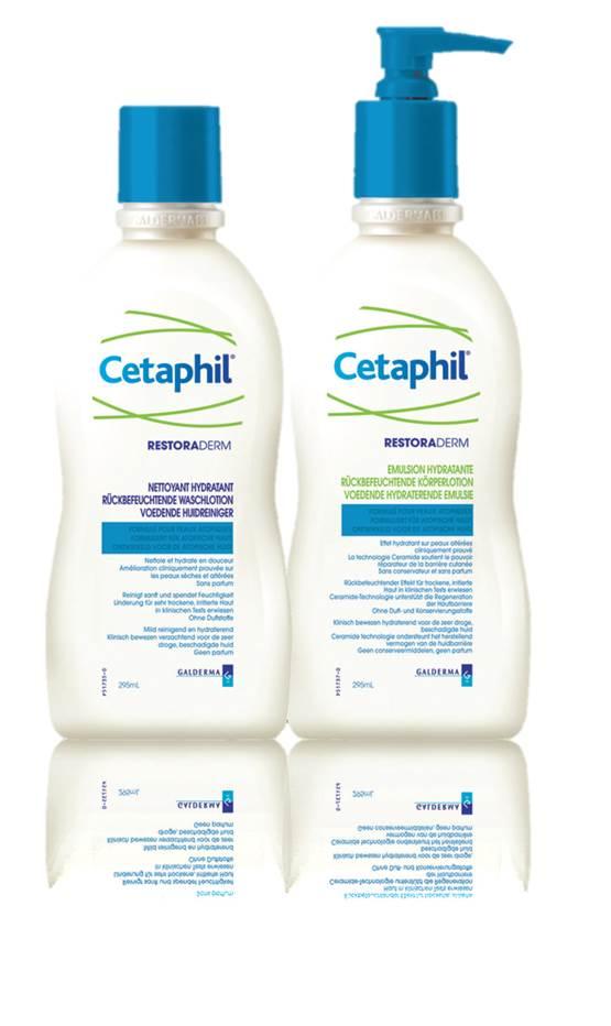 Cetaphil RESTORADERM tusfürdő 295 ml *