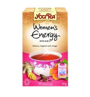 Női energia tea 15x Yogi bio (beszerzése hosszadalmas)