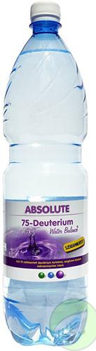 ABSOLUTE 75-csökkentett Deutérium tartalmú ivóvíz 1,5l