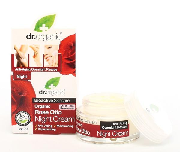 Dr. Organic Bio Rózsa éjszakai arckrém 50ml (beszerzése hosszadalmas)