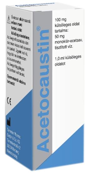 Acetocaustin oldat 0.5ml szemölcseltávolító *