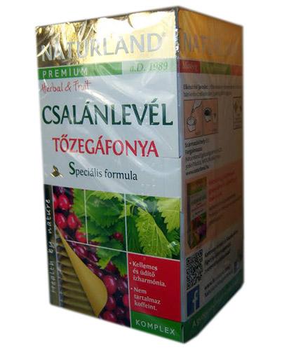 Naturland tőzegáfonya tea kismamáknak