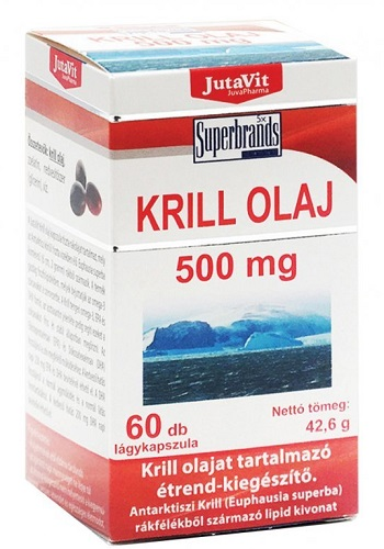 Krill+Halolaj Omega-3 60x Yes Pharma