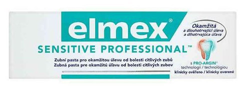 Elmex Sensitve Professional fogkrém 75ml