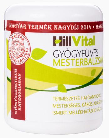 Gyógyfüves Mesterbalzsam 250ml HillVital