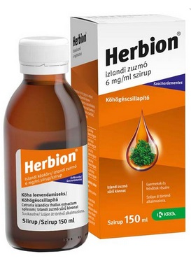 Herbion izlandi zuzmó  szirup 150ml