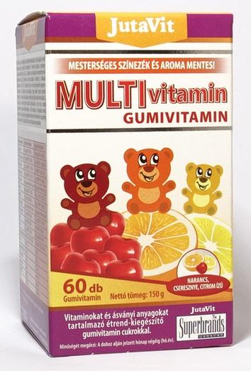 JutaVit Multivitamin gumivitamin 60x