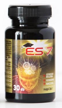 ES 7 agyserkentő tabletta 30X