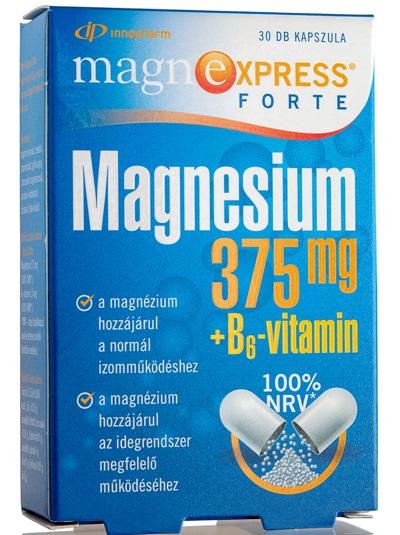 MagnExpress®Forte 375 mg kapszula 30x Vitaday